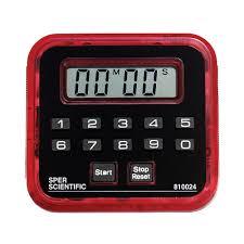 countdown timer clock count up 99 minute sper scientific