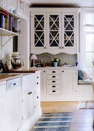 designer kitchens glass front cabinets simplified bee