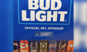 32 pack of bud light get your nfl themed bud light aluminum bottles while you can