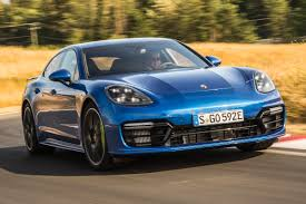 porsche panamera blue new porsche panamera turbo s e hybrid 2017 review auto express