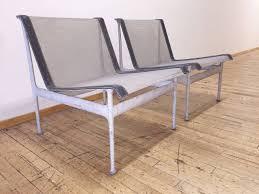 Homecrest Vintage Patio Furniture - original vintage richard schultz pair of low lounge chairs patio