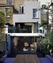 Modern Row House by Balcony Roof Designs Exterior Contemporary With Terraced House Row