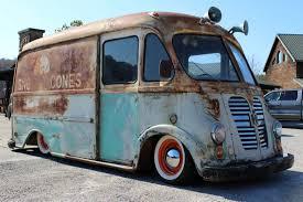 truck van sno low cone truck 1960 international metro