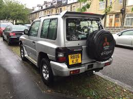 1998 r reg mitsubishi shogun 2 8 td swb manual flared arch in