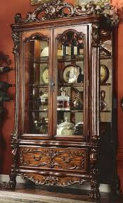 antique display cabinets with glass doors antique curio cabinets polyflow