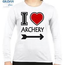 desain kaos archery jual kaos kaos cewek gildan i love archery print kaos lengan