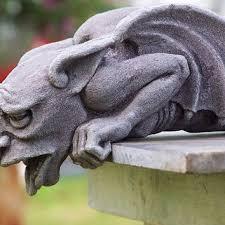best garden gargoyle statues products on wanelo