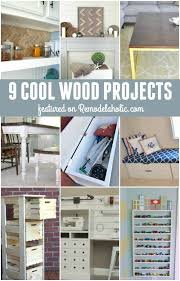 Remodelaholic 9 Cool Wood Projects November Link Party | remodelaholic 9 cool wood projects november link party