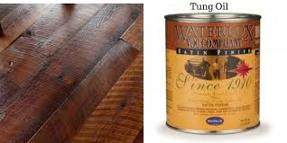 vs water based polyurethane and tung eagle hardwood flooring