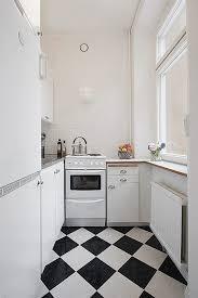 carrelage cuisine blanc carrelage cuisine en noir et blanc 22 intérieurs inspirants