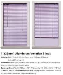 aliexpress com buy singapore aluminium venetian blinds