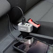 Anker Dual Port Car Charger Anker 48w 4 Port Car Charger Digitaldestiny Co