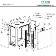 15u server rack cabinet toten server cabinet rack supplier in bangladesh 9u