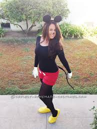 Tween Minnie Mouse Halloween Costume Cute Sew Mickey Mouse Costume