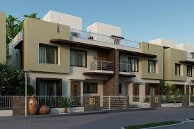 Exteriors Artstation 3d Exterior Bungalow And Apartments Design Rayvat