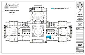 Architectural Floor Plan by Future Occupancy Floor Plans Minnesota Capitol Restoration