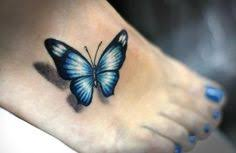 3d butterfly tattoos on small chest design idea for and