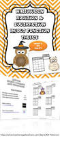 common core halloween addition subtraction function tables 3