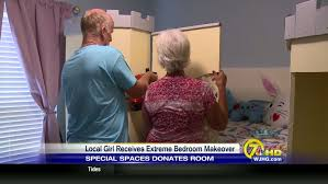 Extreme Bedroom Makeover - local receives extreme bedroom makeover