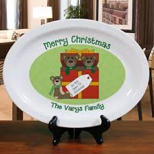 personalized christmas platter personalized christmas lights serving platter platters