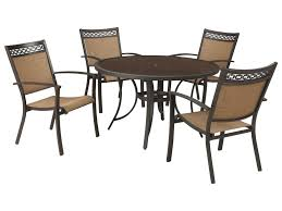signature design by carmadelia outdoor round dining table
