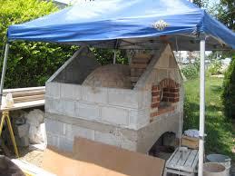 Backyard Pizza Ovens Phillipsburg Nj Outdoor Wood Fired 36 U2033 Dome Brick Ovenfire