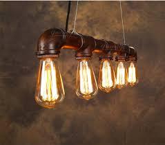 vintage pendant light american industrial edison l water pipe