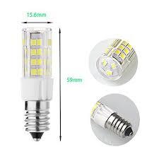 rayhoo 4pcs e14 base led bulb 5w led light 51 2835 smd led