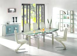 Designer Glass Dining Tables Glass Dining Room Tables And Chairs Size Of Looking Modern