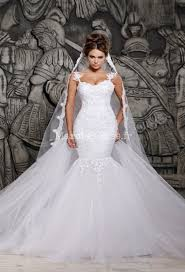 robe de mari e dentelle sirene robe de mariée tulle sirène bustier avec traine