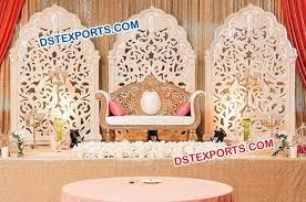 indian wedding fiber panel backdrops stage dstexports