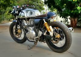 modified bullet royal enfield continental gt redefined 350cc com modified