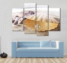 aliexpress com buy 4 pcs beautiful starfish shell top rated wall