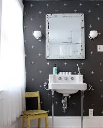 paint bathroom ideas creative black white paint bathroom home interiors