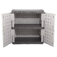 Plastic Storage Cabinet Rubbermaid Plastic Storage Cabinet Home Design