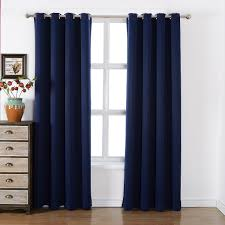 black blackout curtains bedroom amazon com sleep well blackout curtains toxic free energy smart