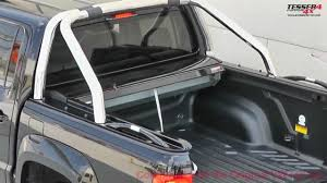 Roll And Lock Bed Cover At Www Accessories 4x4 Com Vw Amarok Accessories 2013 Roller Lid