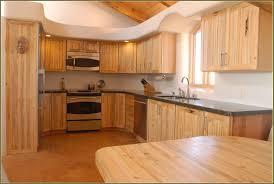 semi modern kitchen interior cherry colored cabinets birch shaker kitchen cabinets