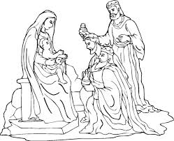 free christmas coloring pages nativity crafts
