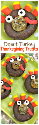 delicious donut thanksgiving turkey treats craft room