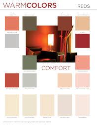 warm colors selection chart color center diamond vogel