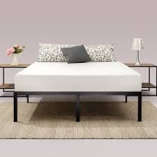 Platform Metal Bed Frame Metal Beds For Less Overstock