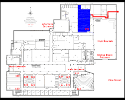 information for coaches and visitors ground floor plan is here also showing several other event rooms campus police will unlock the main entrance doors to the building but they will lock