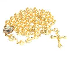 baptism rosary baptism rosary gold swarovski pearls onedaysgrace