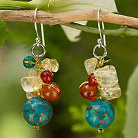 thailand earrings unicef market thai jewelry