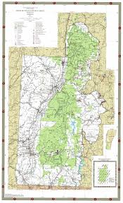 National Map Map Green Mountain National Forest South U2013 Andy Arthur Org