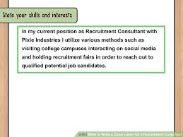 How To Write An Email To Hr For Sending Resume How To Write A Cover Letter For A Recruitment Consultant With