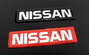 nissan black logo nissan