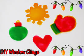 Christmas Window Decorations Sticky by Messy Monday Diy Window Clings How To Make Christmas Window