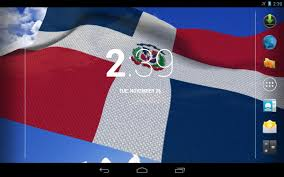 Dominican Republic Flags 3d Dominican Flag Lwp Android Apps On Google Play